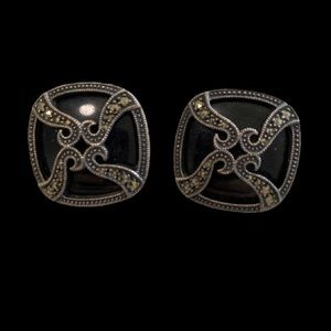 Judith Jack Sterling Silver Earrings